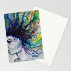 Let go of old dreams Stationery Cards