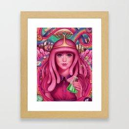 She's Got Science Framed Art Print