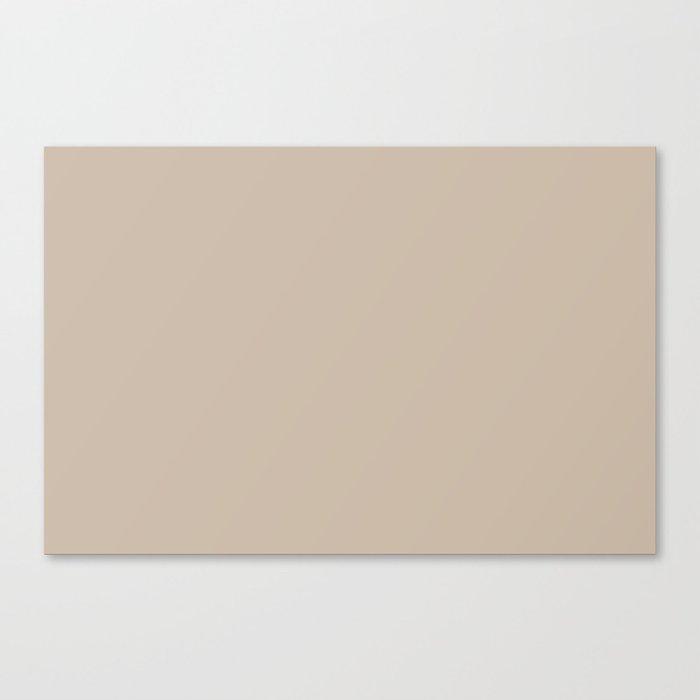 Best Seller Sherwin Williams Trending Colors of 2019 Dhurrie Beige SW 7524 Solid Color - Hue - Shade Leinwanddruck
