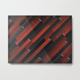 Maniac Pattern Metal Print