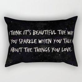 .things you love. Rectangular Pillow