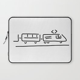 train driver locomotive driver Laptop Sleeve
