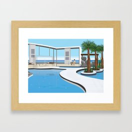 Modern lifestyle Framed Art Print