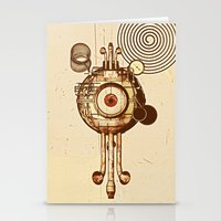 mandie manzano Stationery Cards featuring hypnotism by dvdesign