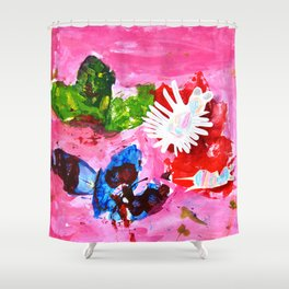 BUTTERFLiES TRANSFORMATiON | Craft Kid Shower Curtain
