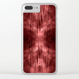 Al-ien Red Clear iPhone Case