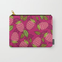 Pink raspberries Carry-All Pouch