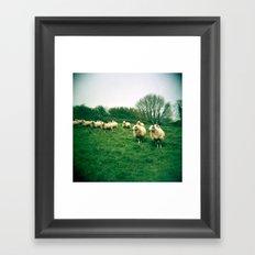 An Audience Framed Art Print