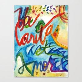 Ubi Caritas Canvas Print