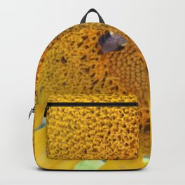 Sunflower with Bees Backpack