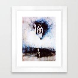B r e a t h e Framed Art Print