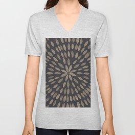 Mandala Flower #5 #drawing #decor #art #society6 Unisex V-Neck
