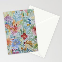 Colors on summer walk Stationery Cards