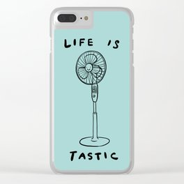 Life is Fantastic Clear iPhone Case
