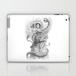 Astro Babe B&W Laptop & iPad Skin