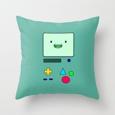 BMO Adventure Time Throw Pillow