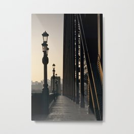 Walk Over The Tyne from Newcastle Metal Print