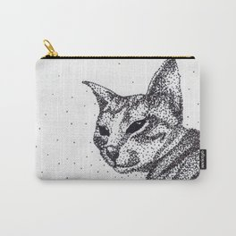 Tazzy Cat Carry-All Pouch