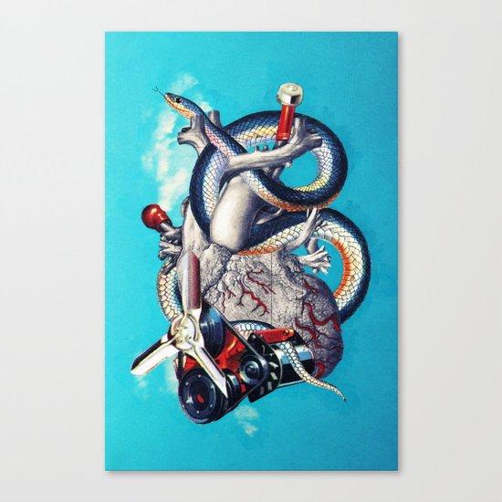 Heart of Illuminati Canvas Print