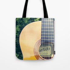 Artista Guitar Tote Bag