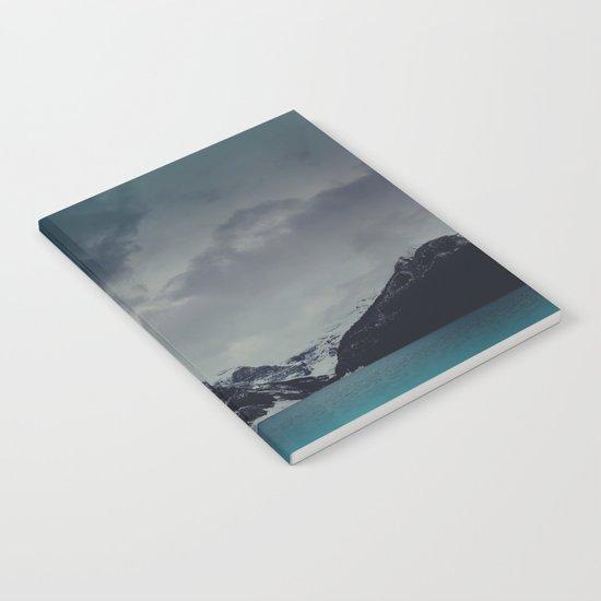 Lake Louise Winter Landscape Notebook