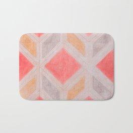 Boho Harlequin Pattern Bath Mat