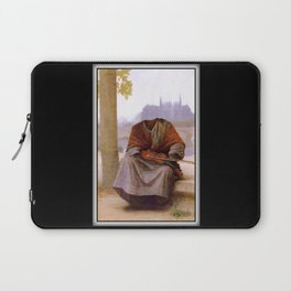 Bouguereau's Invisible Bohemian Laptop Sleeve