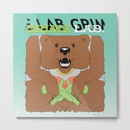 Thug Bear  Metal Print