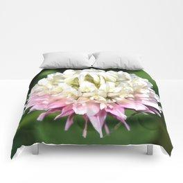 Flower | Flowers | One Clover Flower | Nature Photography | Nadia Bonello Comforters