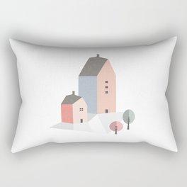 Tiny houses Rectangular Pillow