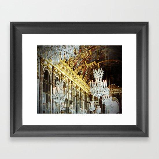 Galerie des Glaces Framed Art Print