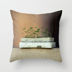 Seedlings Throw Pillow