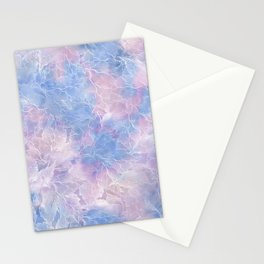 Frozen Leaves 10 Stationery Cards