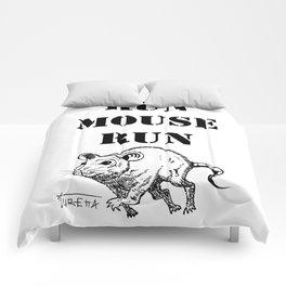 Run Mouse Run Comforters