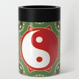 Holiday Festive Balance Yin Yang Can Cooler