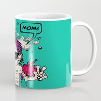 mom Mugs featuring Mom! by Elsa Neves