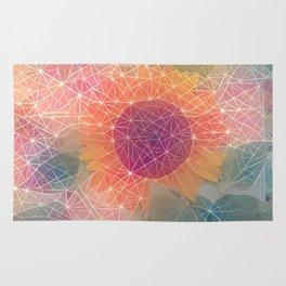 Sunflower Constellation Rug