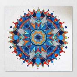 Mandala 002 Canvas Print