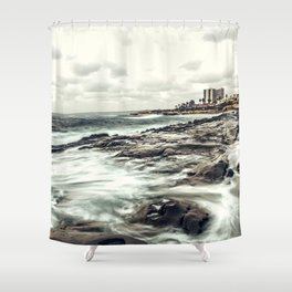 The Whispering Tide Shower Curtain