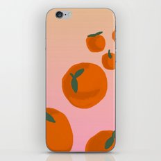 Tangerine iPhone Skin