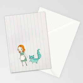Alice and Chesh Stationery Cards