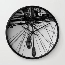 A Beautiful Tangle Black & White Wall Clock