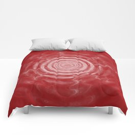 Ripples_Red Comforters