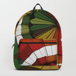 hot air balloon color Backpack