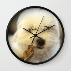 Moriarty & The Bully Stick Wall Clock