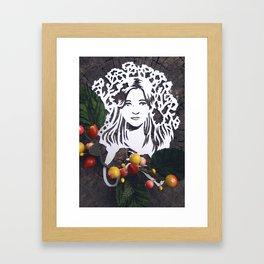 Spring Sprite Framed Art Print