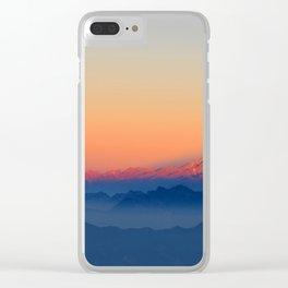 Nature  LI Clear iPhone Case