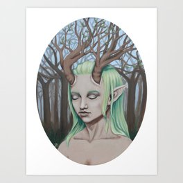 Daughter of the Forest Art Print