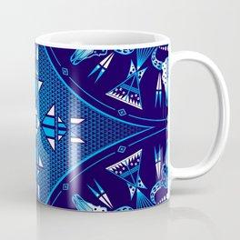 buffalo Gathering blue Coffee Mug