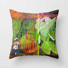 The Wizard Awakening Within Throw Pillow